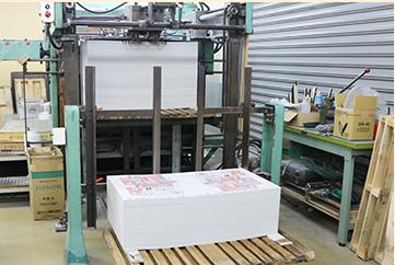 パッケージの製造中の写真です。