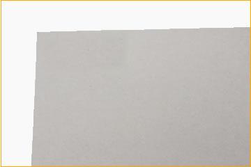 箱の紙質、コートボールの裏面です。