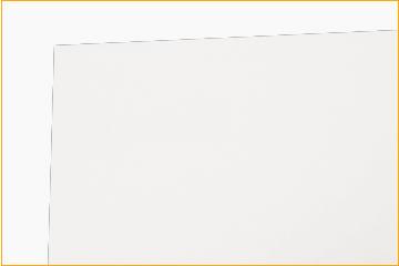 箱の紙質、食品向けバージンパルプ紙の裏面です。